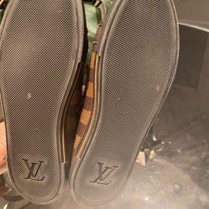 6679b6dd0 Women Louis Vuitton Damier Sneakers on Poshmark